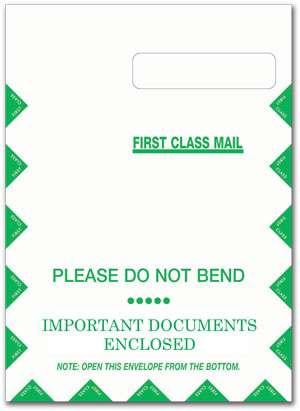 HCFA CMS 1500 Large Envelopes